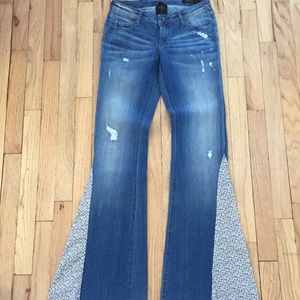 Genetic Denim for Free People The Kelly Flares